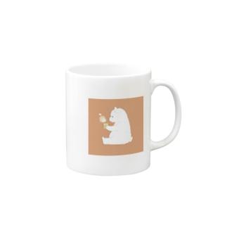 しろくま(暖) Mugs
