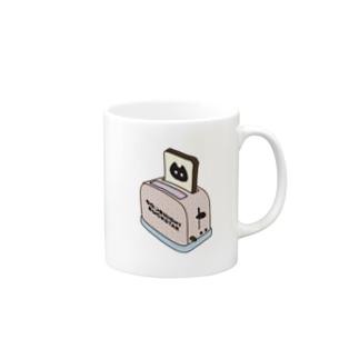 Panic Junkie×GOODNIGHT ROCKSTAR トースター Mugs