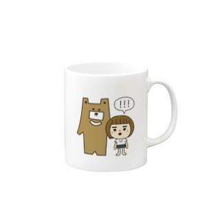 クマはむこ Mugs