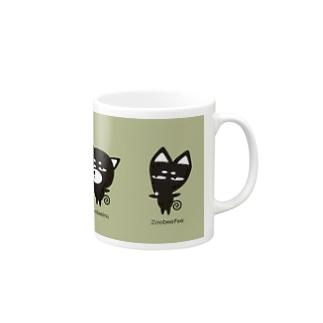 ZooBeeFooクセキャラ4 Mugs