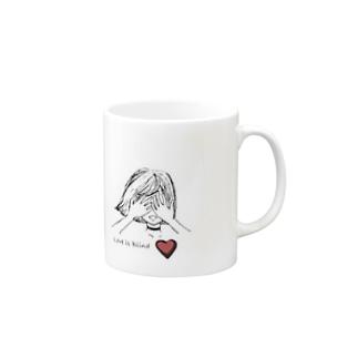恋 Mugs