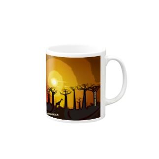 BAOBAB -MAMA AFRICAN SERIES- Mugs
