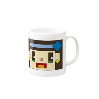 かくばりこちゃん マグカップ