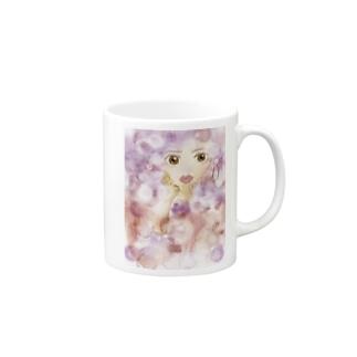mihoret  mode  紫式部 Mugs