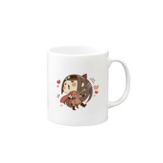 くのいち&しばまる Mugs