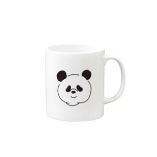 ちょっと二重あごなパンダ Mugs
