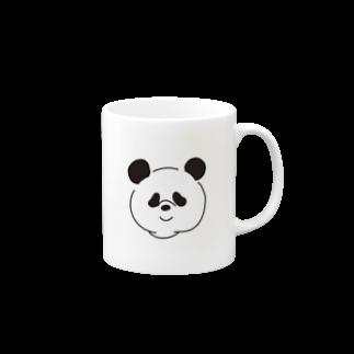nekozehanetaiのちょっと二重あごなパンダ Mugs