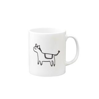 うま Mugs