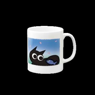 魚の夢CH〜サクラトネコトボク〜 マグカップ