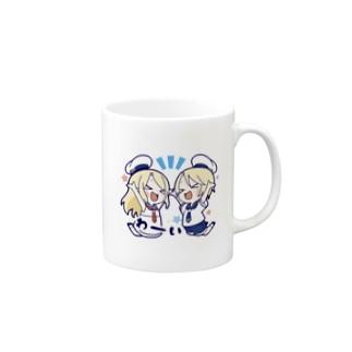 ふたごマリン Mugs