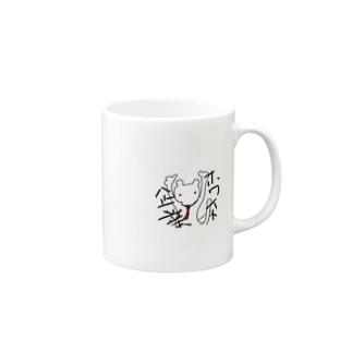 ホワイトなくま Mugs