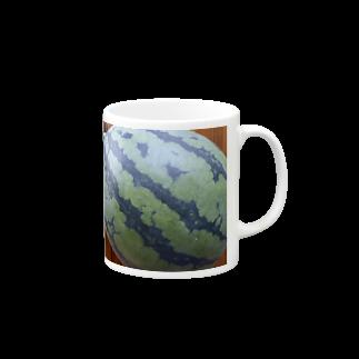 hrkのスイカ Mugs