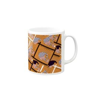 MITOMERUYO pattern Mugs