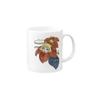 椿女 マグカップ