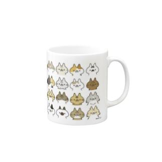 ねこばかり Mugs