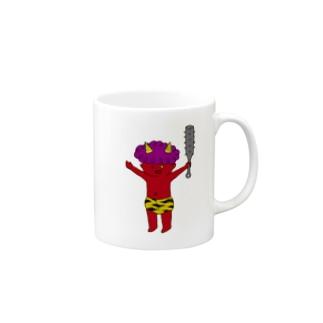 鬼1 Mugs