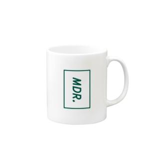 mdr. box-logo Mugs