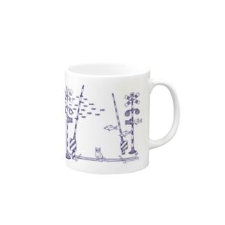 海猫 Mugs