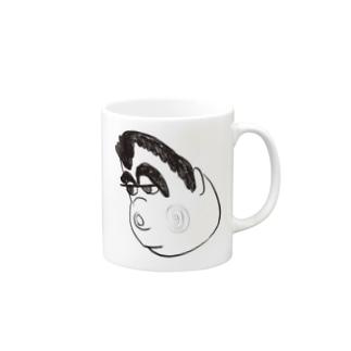 くいしんぼうボール Mugs