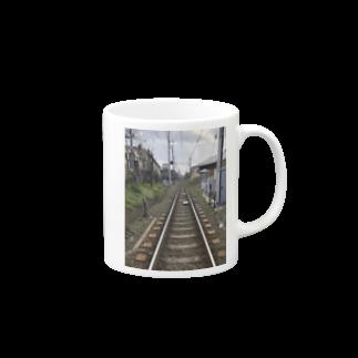 ADO15   〜貴様ら全員令和送りだ〜の街中の線路 Mugs