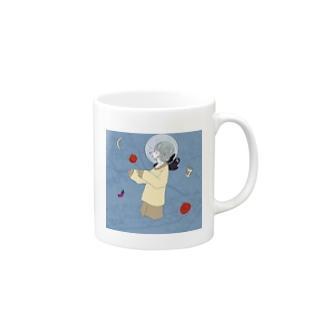 地球仔ちゃん。chikyuuko. Mugs