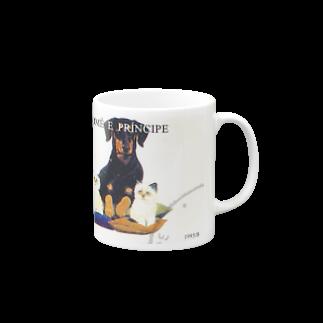 FUCHSGOLDのサントメ・プリンシペの切手:犬切手  Mugs