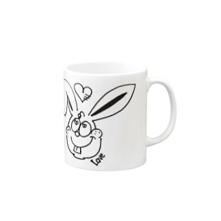 Love Rabbit Mugs