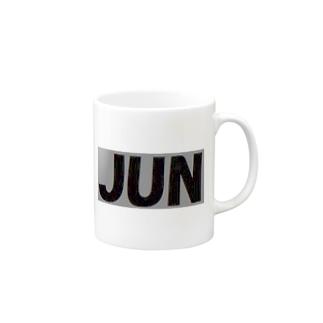 JUN  グッズ 3 Mugs