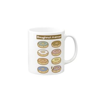 ドーナツマニア!!!よりどりみどり-パステル Mugs