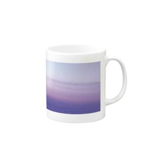 グラデ夕空 Mugs