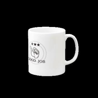 rokugatsunoumiのGOOD JOB Mugs