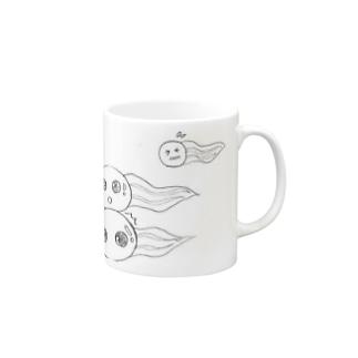 麻生塾 デザイン・クリエイティブ実験SHOPのちょっと待って Mugs