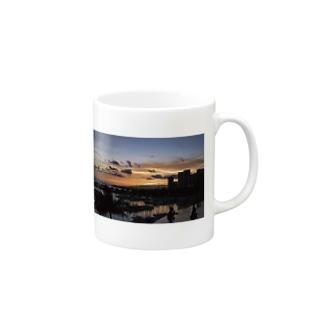 Waikiki's Infinity sunset Mugs