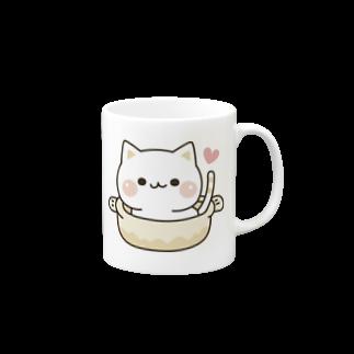 DECORの気づかいのできるネコ ねこ鍋 Mugs