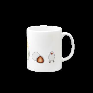 インコグッズ屋の鳥と食べ物 Mugs