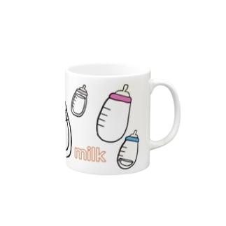 milk baby Mugs