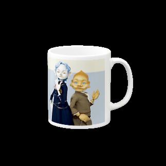 sherlockgakuenのSherlock Holmes & John H. Watson マグカップ