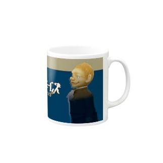 Sherlock Holmes & John H. Watson マグカップ
