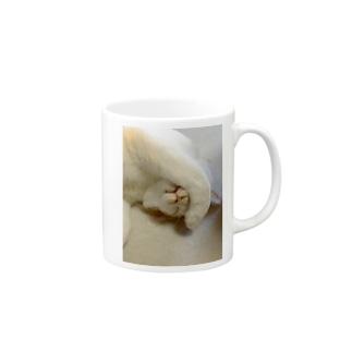 てんちゃん(前足) Mugs