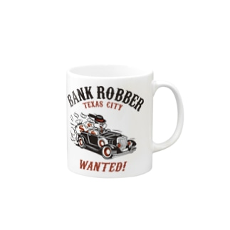 Bank Robber Mugs