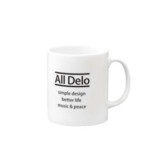 United Sweet Soul MerchのAll Delo - better life Mugs