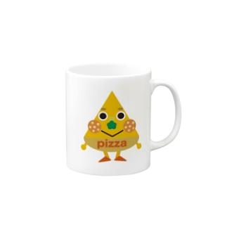ピザくん Mugs