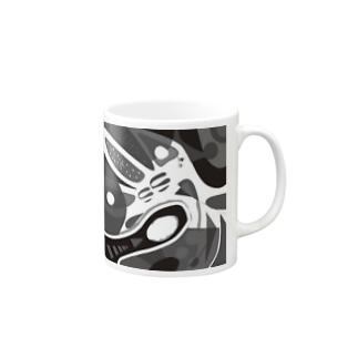 モノクロセカイ Mugs