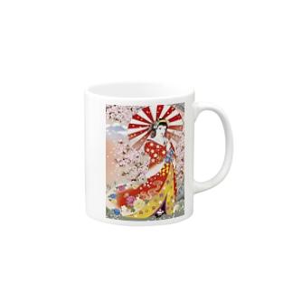 【クールジャパン】浮世絵風 Mugs