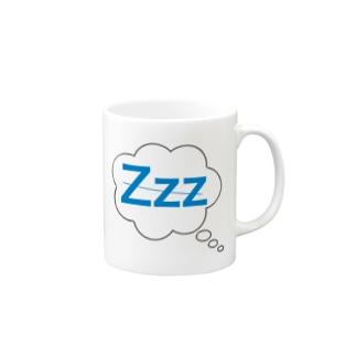Zzz...ねむい Mugs