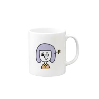 ウインク! Mugs