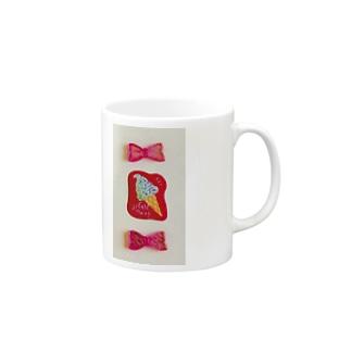 かわいいピンクたち Mugs