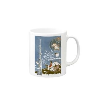 東京 ジャパン no.1 Mugs