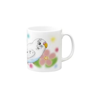 セキセイインコのピーコちゃんⅡ Mugs