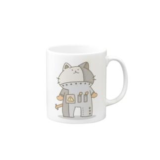 茶ロボにゃん Mugs